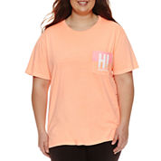 Flirtitude Hawaii Graphic T-Shirt- Juniors Plus