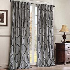 Serendipity Rod-Pocket/Back-Tab Curtain Panel