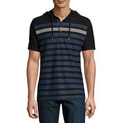 i jeans by Buffalo Short Sleeve Jersey Hoodie