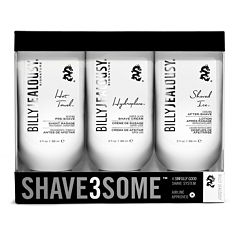 Billy Jealousy Shave3Some Travel Shave Kit - 9 oz.