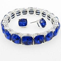 Vieste Rosa Womens 2-pc. Blue Brass Jewelry Set