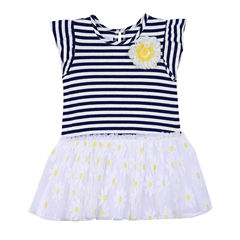 Marmellata Short Sleeve Tutu Dress - Baby Girls