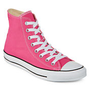 Converse Chuck Taylor All Star Womens High-Top Pink Paper Sneakers - Unisex Sizing