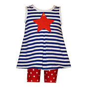 Bonnie Jean® Dress and Capris Set - Baby Girls newborn-9m