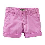 OshKosh B'gosh® Cotton Shorts - Preschool Girls 4-6x