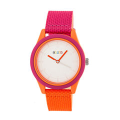 Crayo Pleasant Unisex Multicolor Strap Watch-Cracr3902