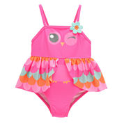 Candlesticks Owl One Piece Swimsuit