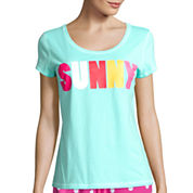 Sleep Chic Short-Sleeve Sleep Tee