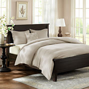 Harbor House Linen Reversible 3-pc. Duvet Cover Set & Accessories