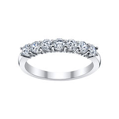DiamonArt® Cubic Zirconia Oval Band Ring