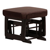 Dutailier®Ultramotion Sleigh Ottoman - Dark Brown