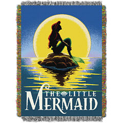 Disney Little Mermaid Tapestry Throw