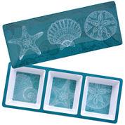 Certified International Aqua Treasures 2-pc. Melamine Appetizer Set