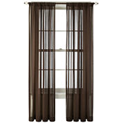 Royal Velvet® Cherise Rod-Pocket Sheer Curtain Panel
