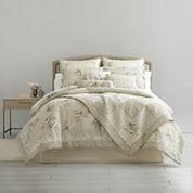 Home Expressions™ Evelyn 4-pc. Comforter Set + BONUS Quilt
