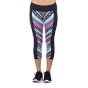 PL Movement by Pink Lotus Tribal-Print Athletic Capris