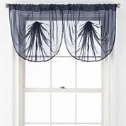 Liz Claiborne® Lisette Rod-Pocket Sheer Window Treatments