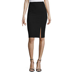Worthington Off Center Slit Skirt