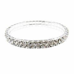 Vieste Rosa Womens White Stretch Bracelet