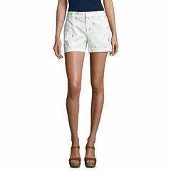 a.n.a Twill Chino Shorts-Talls