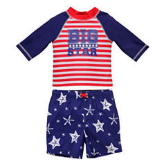 Candlesticks Big Star Rash Guard Set - Baby