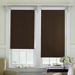 JCPenney Home™ Saratoga Cut-to-Width Unfringed Blackout Roller Shade - FREE SWATCH