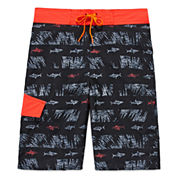 Arizona Black Sharks Swim Trunks- Boys 8-20 and Husky
