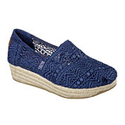 Skechers® Bobs Amaze Espadrille Wedge Slip-On Shoes
