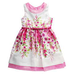 Young Land Sleeveless Party Dress - Preschool