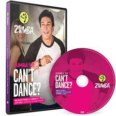 Zumba® 101 Can't Dance DVD