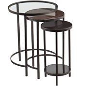 Holly & Martin Ocelle 3-pc. Nesting Tables