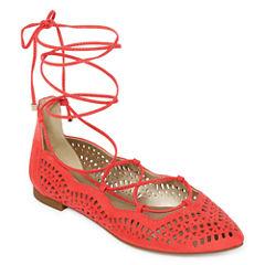 a.n.a Fallon Womens Ballet Flats