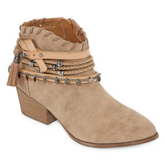 Pop Crush Womens Bootie
