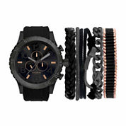 Rocawear Mens Black 7-pc. Watch Boxed Set-Rmst5174b328-264