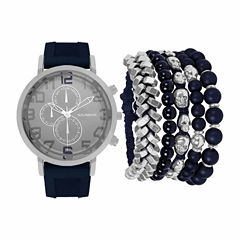 Rocawear Mens Blue 7-pc. Watch Boxed Set-Rmst5354s328-024
