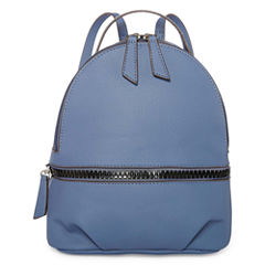 T-Shirt & Jeans Zip Around Polyurethane Coated Backpack