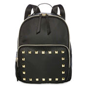T-Shirt & Jeans Tj Nylon Backpack With Studs Polyurethane Coated Backpack