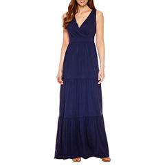 St. John's Bay Sleeveless Maxi Dress