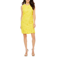 Ronni Nicole Sleeveless Lace Shift Dress