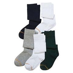 Gold Toe 5 Pair Knee High Socks