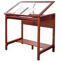 Ponderosa Wood Standing Desk