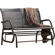 Maui Outdoor Wicker Swinging Bench