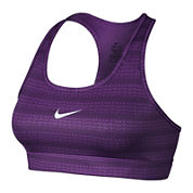 Nike® Victory Compression Zig Dot Sports Bra