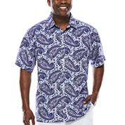 Steve Harvey® Short-Sleeve Shirt - Big & Tall