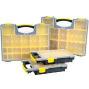 Stalwart 4-Box Parts and Crafts Portable Storage Organizer Set