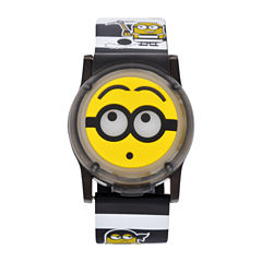 Universal Despicable Me Boys Multicolor Strap Watch-Dsm4026jc