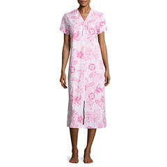 By Miss Elaine Short Sleeve Robe