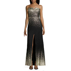 B. Smart Sleeveless Evening Gown-Juniors