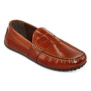 Claiborne® Cornerstone Mens Leather Drivers