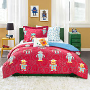Mi Zone Digital Danny Complete Bedding Set with Sheets